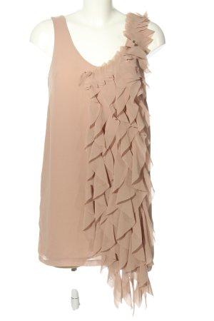 H&M Chiffonkleid nude Elegant