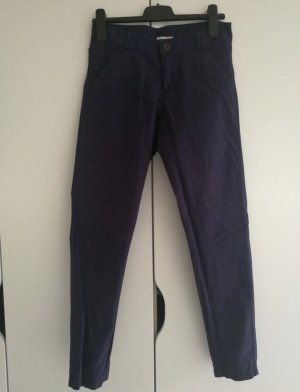 H&M Chino Hose Neu ohne Etikett Gr.34 marine/ dunkelblau