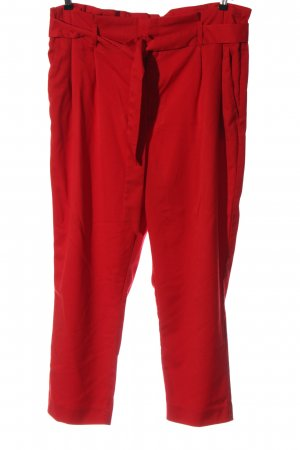 H&M Chinohose rot Casual-Look