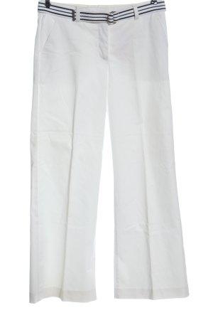 H&M Pantalon chinos blanc style d'affaires