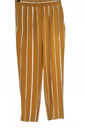 H&M Chinohose Streifenmuster Casual-Look