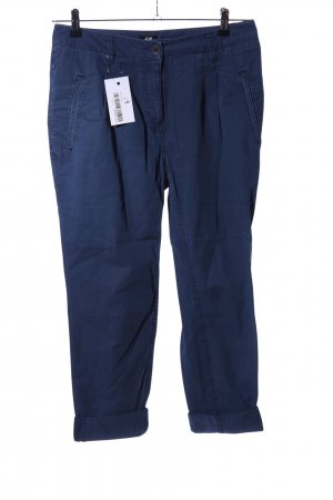 H&M Chinohose blau Casual-Look