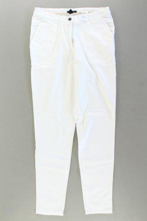H&M Chinohose Größe 36 weiß aus Baumwolle