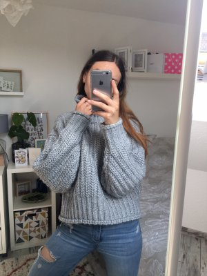 H&M Chunky Grobstrick Pullover Cropped Blogger XS/34