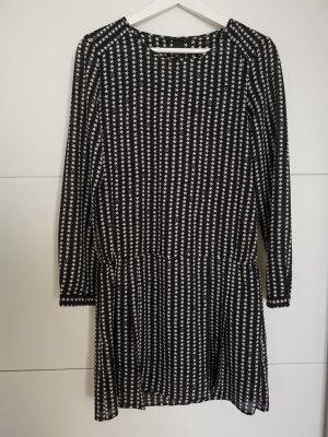 H&M ciffon dress with star-prints