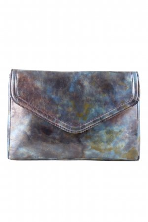 H&M Clutch abstraktes Muster extravaganter Stil