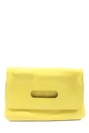 H&M Clutch blassgelb Elegant