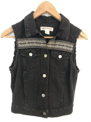 H&M x Coachella Collection Biker vest veelkleurig