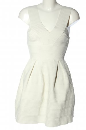 H&M Cocktailkleid weiß Elegant