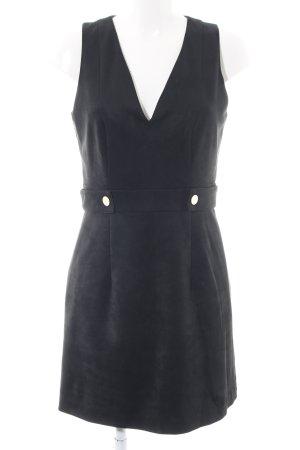 H&M Sukienka koktajlowa czarny W stylu biznesowym
