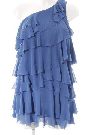 H&M Cocktailkleid blau extravaganter Stil