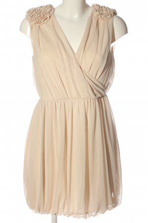 H&M Cocktailkleid creme Party-Look