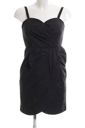 H&M Cocktailkleid schwarz Business-Look