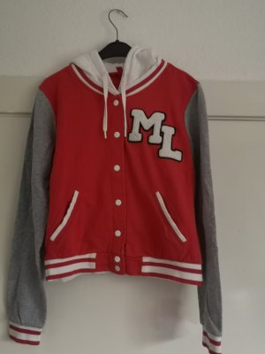 H&M College Jacket multicolored cotton