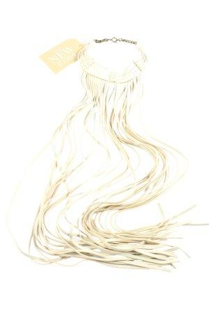 H&M Collier wollweiß-bronzefarben Elegant