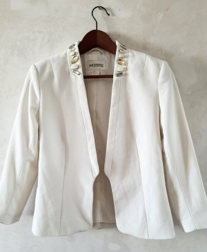 H&M Concious Collection Ivory Blazer 36