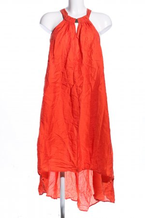 H&M Conscious Collection A-Linien Kleid hellorange Casual-Look