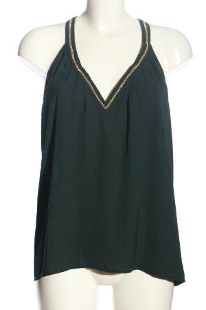 H&M Conscious Collection A-Linien Top grün Casual-Look