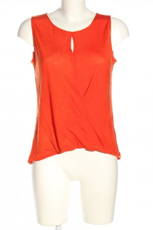 H&M Conscious Collection ärmellose Bluse hellorange Casual-Look