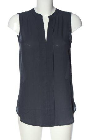 H&M Conscious Collection ärmellose Bluse hellgrau Casual-Look