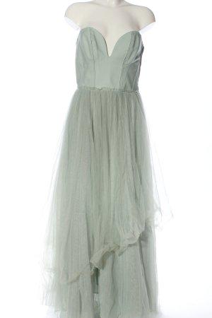 H&M Conscious Collection Vestido de baile gris claro elegante