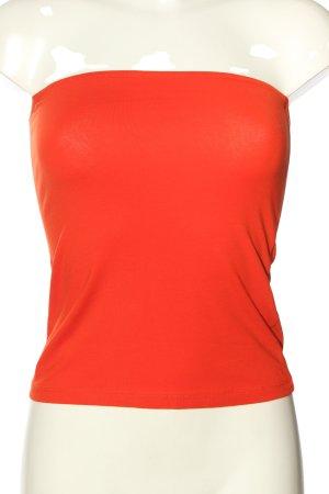H&M Conscious Collection Haut bandeau orange clair style décontracté