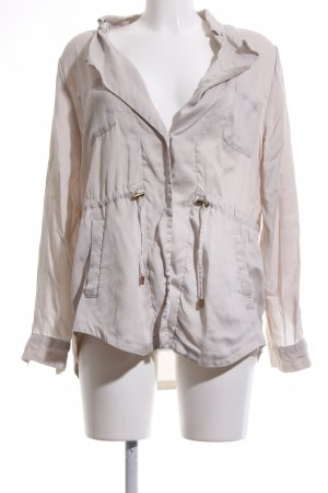 H&M Conscious Collection Blusenjacke wollweiß Casual-Look