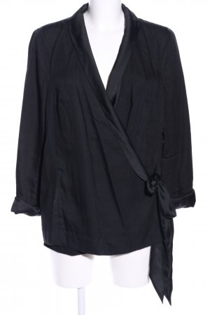 H&M Conscious Collection Blouse Jacket black business style
