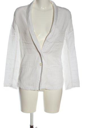 H&M Conscious Collection Boyfriend blazer wit zakelijke stijl