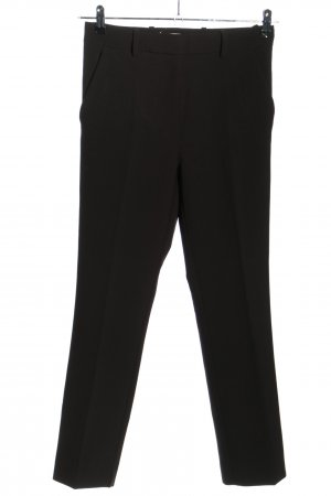 H&M Conscious Collection Bundfaltenhose braun Business-Look