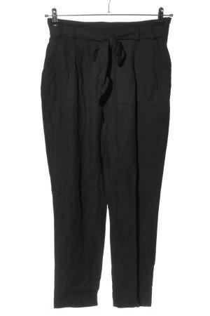 H&M Conscious Collection Pantalone a pieghe nero stile casual