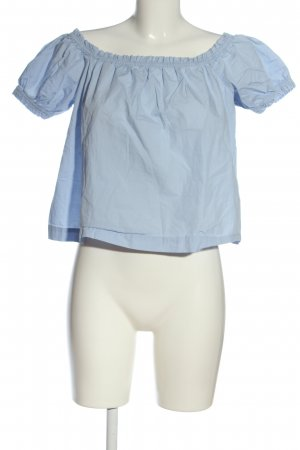 H&M Conscious Collection Carmen Blouse blue casual look