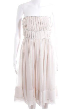 H&M Conscious Collection Corsage Dress dusky pink-pink elegant