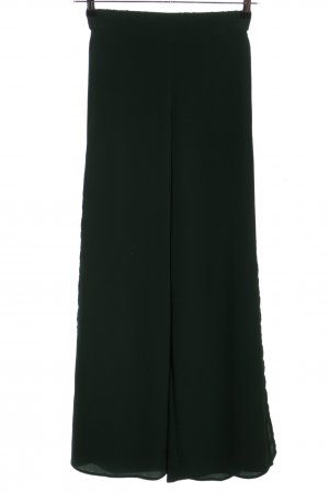 H&M Conscious Collection Falda pantalón de pernera ancha verde look casual