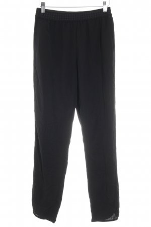 H&M Conscious Collection High-Waist Hose schwarz Casual-Look
