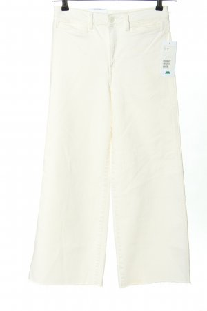 H&M Conscious Collection High Waist Jeans weiß Casual-Look