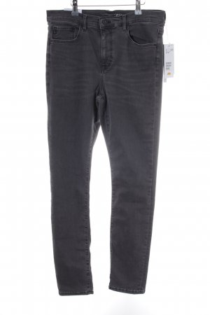 H&M Conscious Collection Hoge taille jeans grijs casual uitstraling