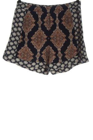 H&M Conscious Collection Szorty z wysokim stanem Łączone wzory W stylu casual
