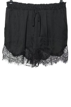 H&M Conscious Collection Hot Pants schwarz Elegant