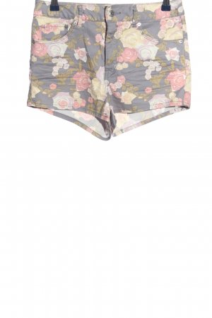 H&M Conscious Collection Hot Pants Allover-Druck Casual-Look