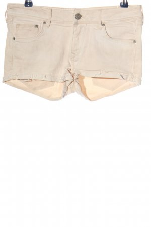 H&M Conscious Collection Jeansshorts wollweiß Casual-Look