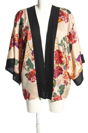 H&M Conscious Collection Kimono Blumenmuster Casual-Look