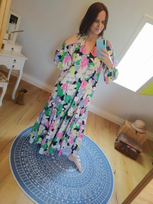 H&M Conscious Collection Kleid Maxikleid