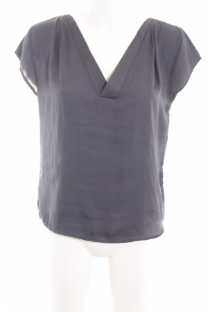 H&M Conscious Collection Kurzarm-Bluse lila Casual-Look