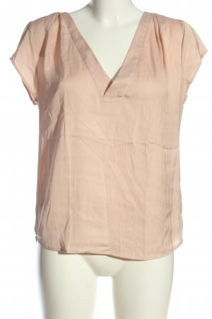 H&M Conscious Collection Kurzarm-Bluse wollweiß Casual-Look
