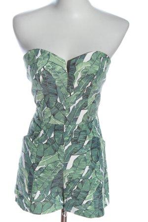 H&M Conscious Collection Kurzer Jumpsuit volledige print elegant