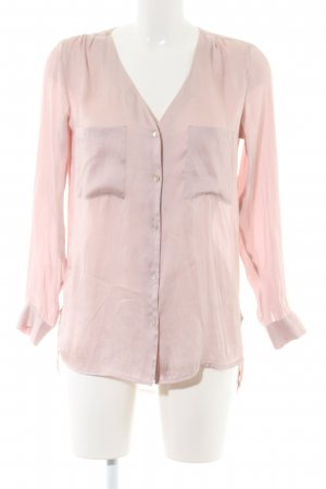 H&M Conscious Collection Langarm-Bluse pink Casual-Look