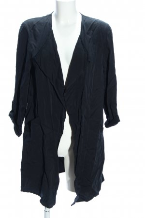 H&M Conscious Collection Lange Jacke schwarz Casual-Look
