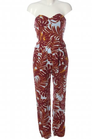 H&M Conscious Collection Langer Jumpsuit Allover-Druck Casual-Look