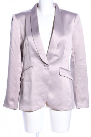 H&M Conscious Collection Long-Blazer lila Business-Look
